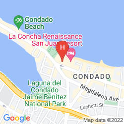 Mappa LA CONCHA  RENAISSANCE RESORT