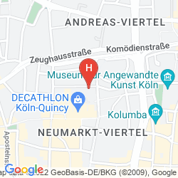 Mappa HOTEL IM KUPFERKESSEL