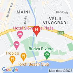 Mappa VILLAGGIO TURISTICO SLOVENSKA PLAZA