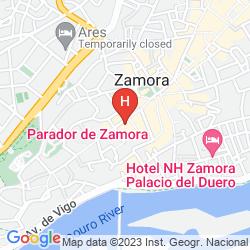 Mappa PARADOR DE ZAMORA