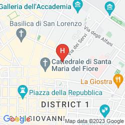 Mappa PALAZZO NICCOLINI AL DUOMO