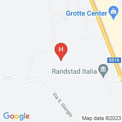 Mappa HOTEL CRISTOFORO COLOMBO