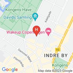 Mappa GENERATOR HOSTEL COPENHAGEN