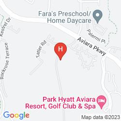 Mappa PARK HYATT AVIARA