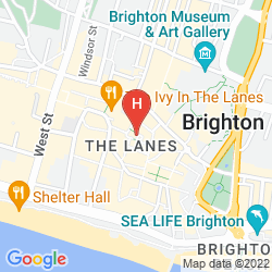 Mappa  ROYAL ALBION HOTEL BRIGHTON
