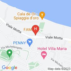 Mappa ADMIRAL HOTEL VILLA ERME