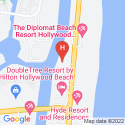 Mappa DOUBLETREE RESORT BY HILTON HOLLYWOOD BEACH