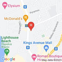 Mappa KEFALOS DAMON HOTEL APARTMENTS