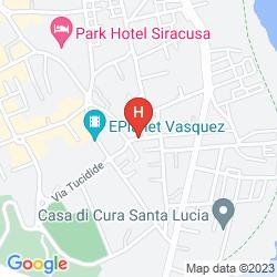 Mappa UNA HOTEL ONE