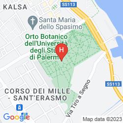 Mappa HOTEL VILLA ARCHIRAFI