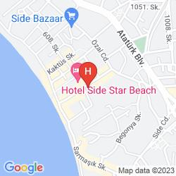 Mappa SUN CLUB SIDE