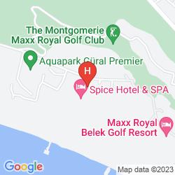 Mappa SPICE HOTEL AND SPA