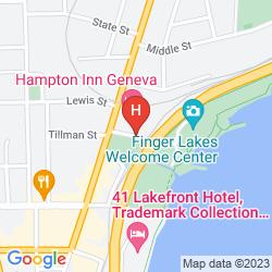 Mappa HAMPTON INN GENEVA