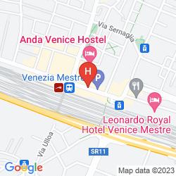 Mappa BEST WESTERN HOTEL TRITONE