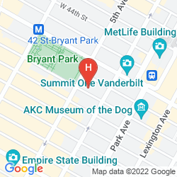 Mappa COURTYARD BY MARRIOTT NEW YORK MANHATTAN/FIFTH AVENUE