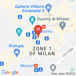 Mappa UNA MAISON MILANO