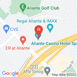 Mappa ALIANTE STATION CASINO + HOTEL