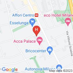 Mappa ACCA PALACE