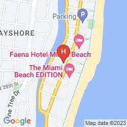 Mappa RED SOUTH BEACH