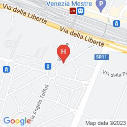 Mappa CASA VILLA GARDENIA