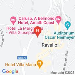 Mappa HOTEL PALUMBO