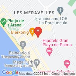 Mappa APARTMENTOS JADE