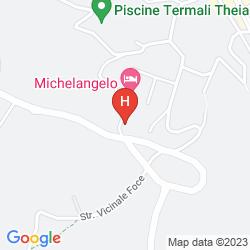 Mappa ALBERGO LE SORGENTI