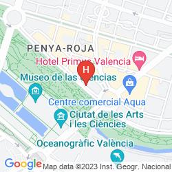 Mappa ALAMEDA PLAZA
