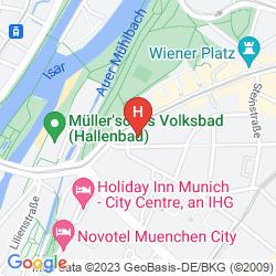 Mappa HOTEL PREYSING