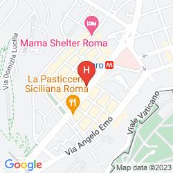 Mappa AI MUSEI VATICANI BB
