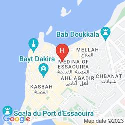 Mappa RIAD ETOILE D'ESSAOUIRA