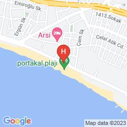 Mappa MY AYTAP HOTEL
