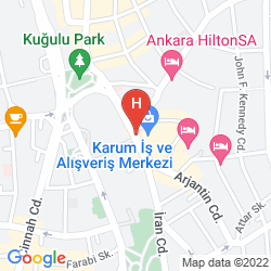 Mappa DIVAN ANKARA