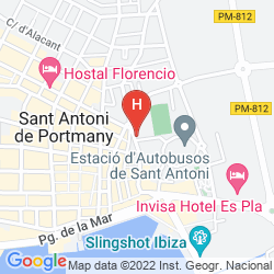 Mappa HOSTAL TARBA