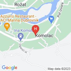 Mappa APARTMENTS DUBELJ