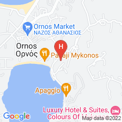 Mappa ASTERI HOTEL