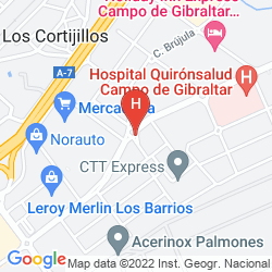 Mappa HOLIDAY INN EXPRESS CAMPO DE GIBRALTAR