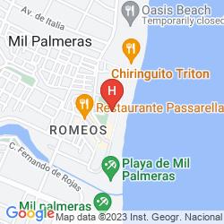 Mappa RIVIERA BEACH APARTMENTS