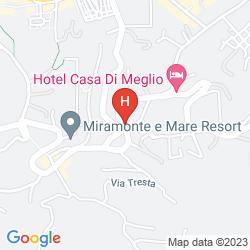 Mappa HOTEL CANDIA