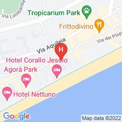 Mappa HOTEL SMERALDO