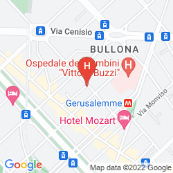 Mappa UNA HOTEL SCANDINAVIA