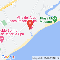 Mappa VILLA DEL ARCO BEACH RESORT & SPA