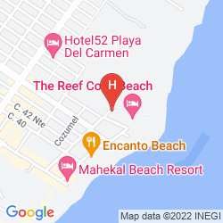Map THE REEF COCO BEACH