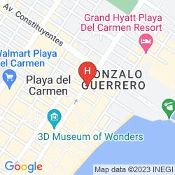 Map VILLAS SACBE CONDO HOTEL