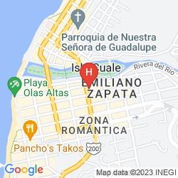 Map RIU PALACE PACIFICO ALL INCLUSIVE