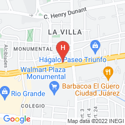 Map LA TEJA