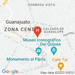 Map LA CASONA DE DON LUCAS