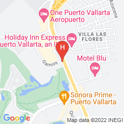 Map COMFORT INN PUERTO VALLARTA