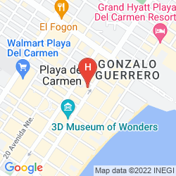 Map XPERIENCE HOTELS - AQUALUNA BOUTIQUE HOTEL