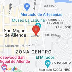 Map CASA MIA SUITES
